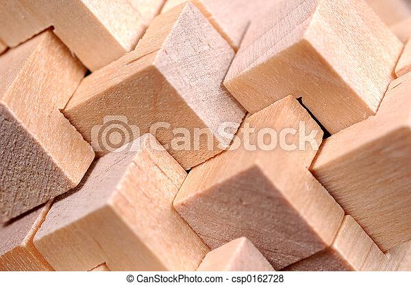 patrón, resumen, madera - csp0162728