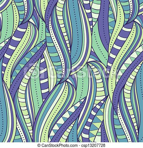 Patrón abstracto sin costura - csp13207728