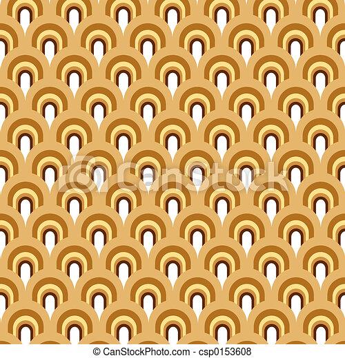 patrón, retro - csp0153608