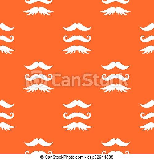El patrón de bigotes es inmaculado - csp52944838