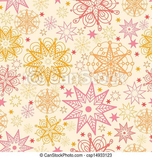 Estrellas cálidas, sin fondo de patrón - csp14933123