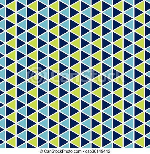 Trasfondo de un triángulo sin forma de colores - csp36149442