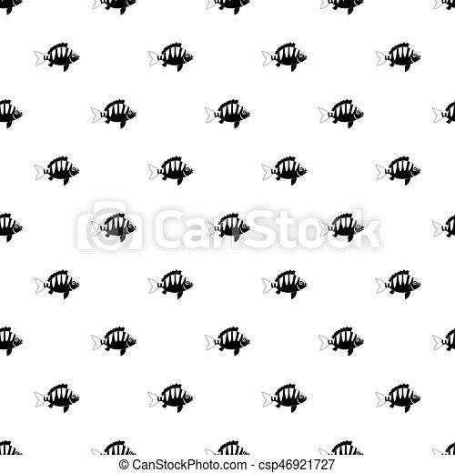 vector de patrones de algas - csp46921727