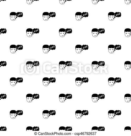 Vector de patrones de cama - csp46792637