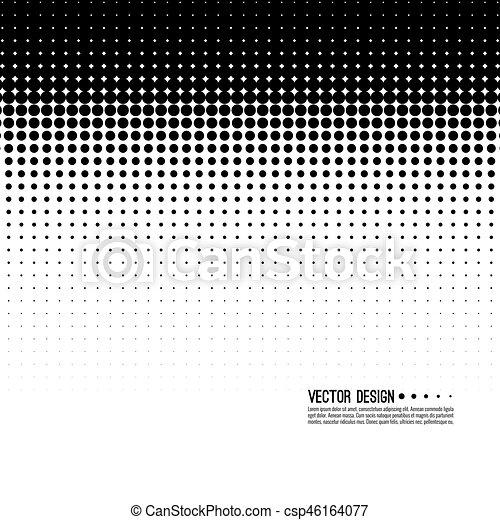 vector de patrón medio - csp46164077
