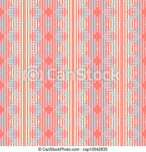 Pattern empapelado vector sin fondo - csp10042835