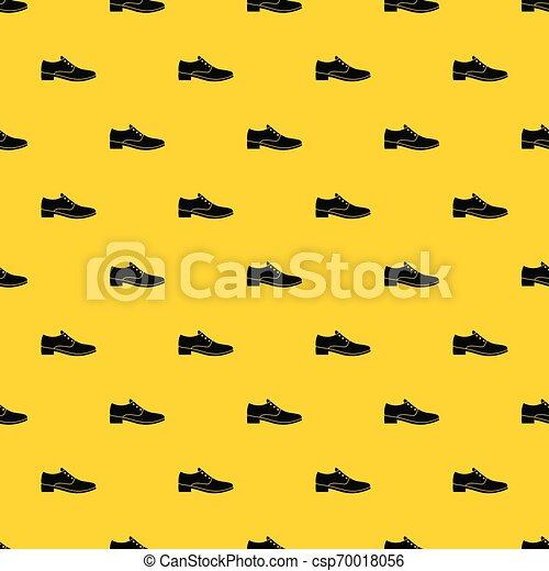 Hombres vector de patrones de calzado. El patrón de calzado