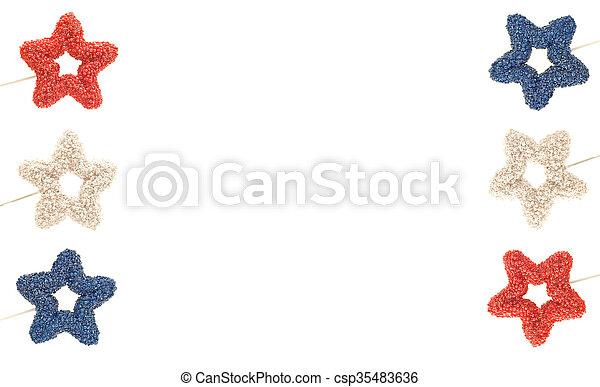 Frontera patriótica - csp35483636