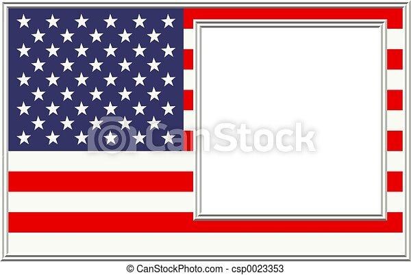 patriótico, frontera - csp0023353
