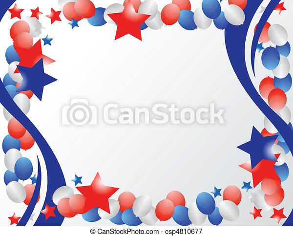 Frontera patriótica - csp4810677