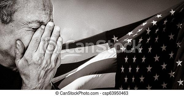 Veterano. Un concepto patriótico. - csp63950463