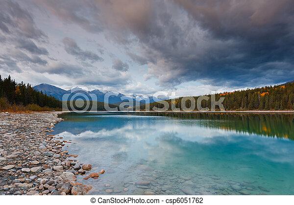 Patricia Lake, Canada - csp6051762