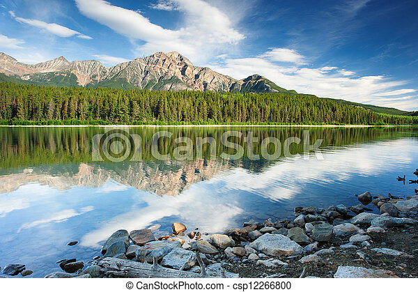 Patricia Lake, Jasper national park - csp12266800