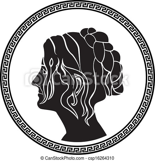 patrician, ギリシャ語, プロフィール, 女性 - csp16264310