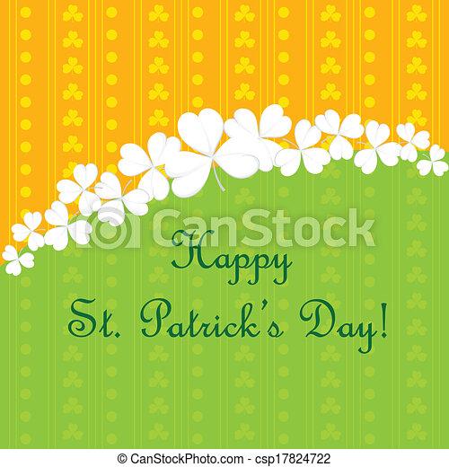 patrick's, święty, dzień - csp17824722