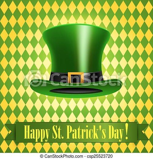 Patricks Day Card - csp25523720