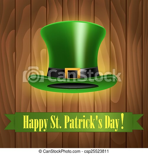 Patricks Day Card - csp25523811