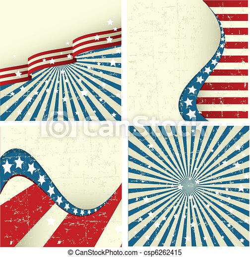 Patriotic Background - csp6262415