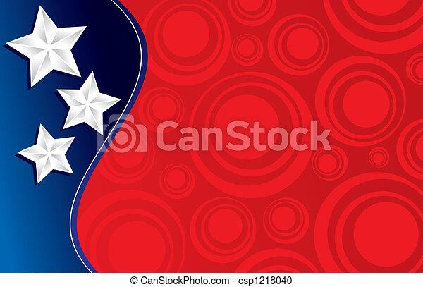 Patriotic Background - csp1218040