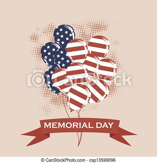 Patriotic background - csp13599096