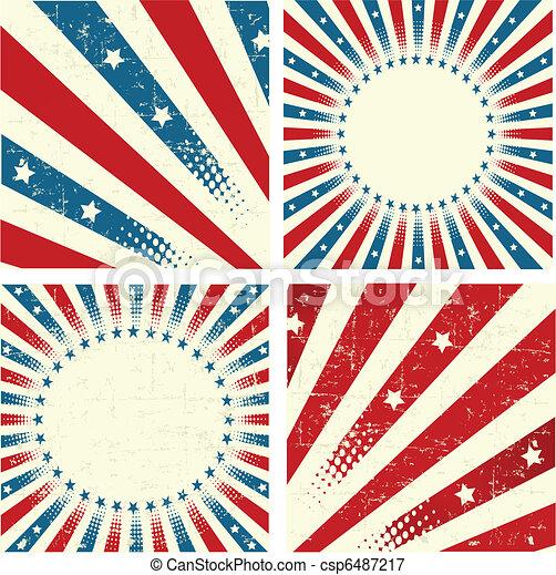 Patriotic Background - csp6487217