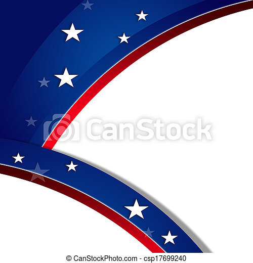 Patriotic background, MLK - csp17699240