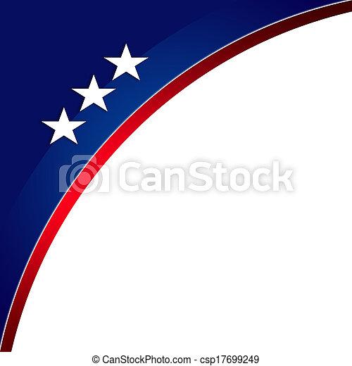 Patriotic background, MLK - csp17699249