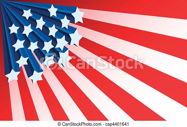 Patriotic Background - csp4401641