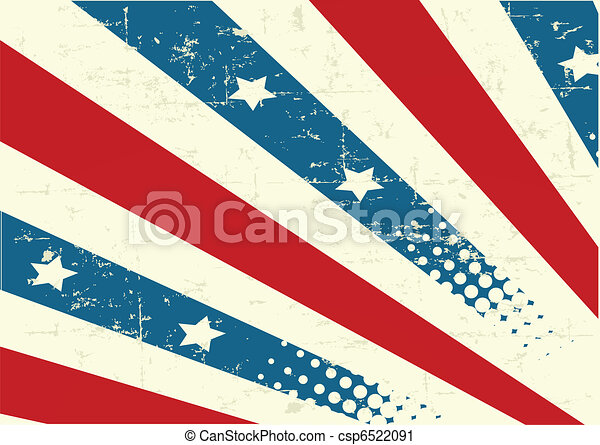 Patriotic Background - csp6522091