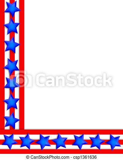 patriotic border stars and stripes illustration stars and stripes rh canstockphoto com stars and stripes images clipart stars and stripes sunglasses clipart