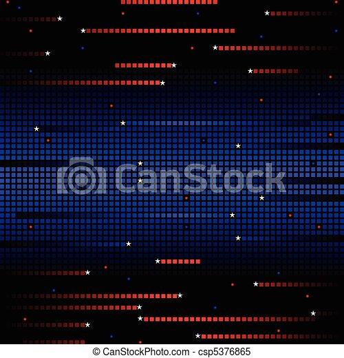 Patriotic grid background - csp5376865