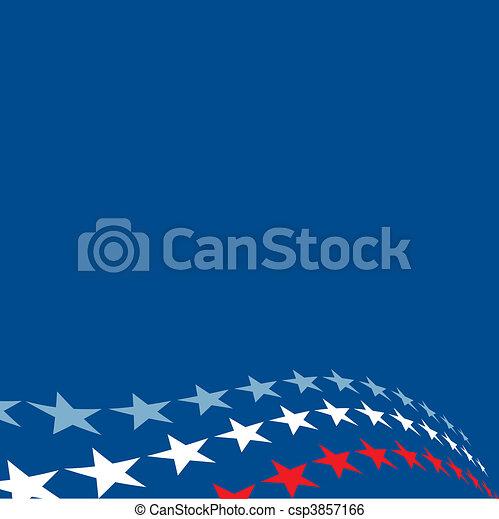 Patriotic Stars Background - csp3857166