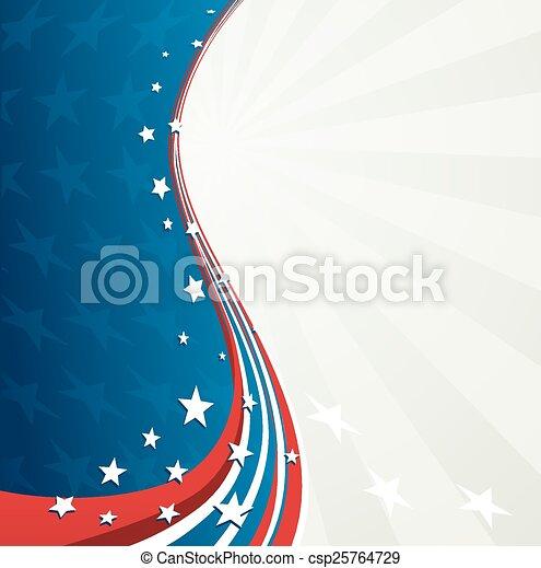 patriotique, jour, fond, indépendance - csp25764729