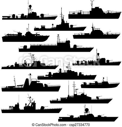 Patrol boat - csp27334770