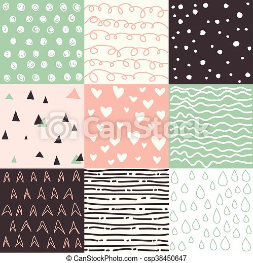 Un conjunto de patrones sin costura - csp38450647