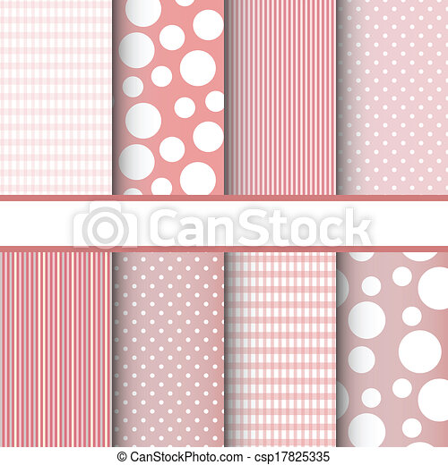 patrones, conjunto, seamless - csp17825335