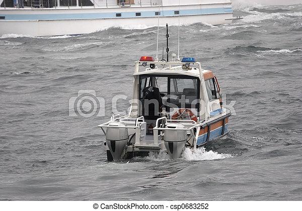 Barco patrulla - csp0683252