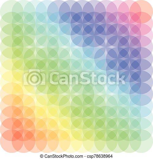Pattern circle color vector illustration conception art - csp78638964