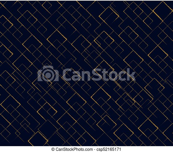 Pattern gold glitter background on formal shape - csp52165171
