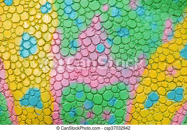 pattern of cement colorful abstract for background - csp37032942