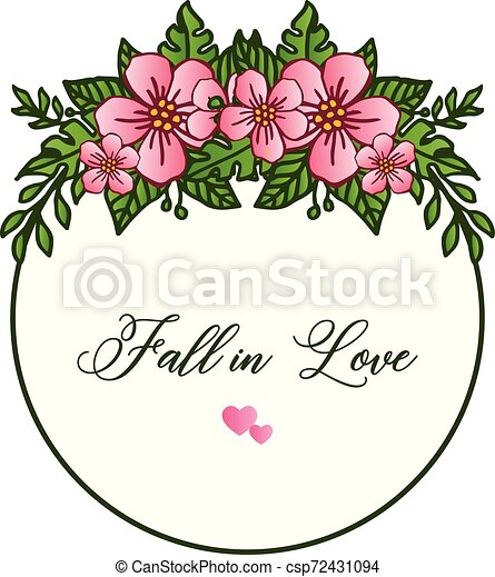 Pattern Of Wallpaper Card Fall In Love Art Unique With Design