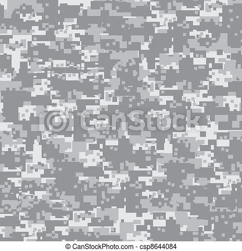 pattern., pustynia, kamuflaż, seamless - csp8644084