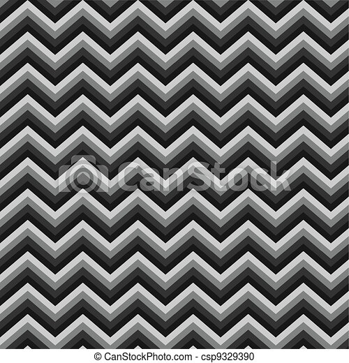 Pattern Retro Zig Zag Chevron - csp9329390