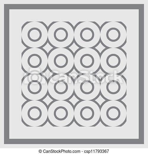 pattern., seamless, vector. - csp11793367