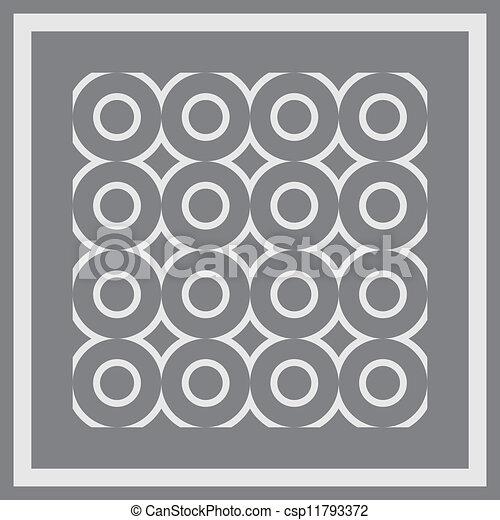 pattern., seamless, vector. - csp11793372