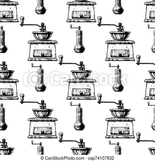 Coffee Grinder Clip Art - The Graphics Fairy