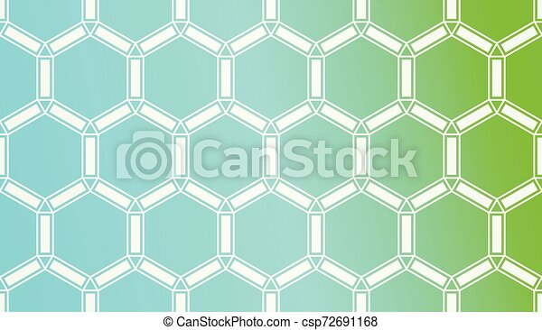 Pattern With Polygonal Geometric Elements. Vector Illustration. Template For Wallpaper, Interior Design, Decoration, Scrapbooking Page. Gradient Background - csp72691168