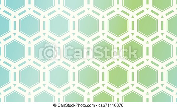 Pattern With Polygonal Geometric Elements. Vector Illustration. Template For Wallpaper, Interior Design, Decoration, Scrapbooking Page. Gradient Background - csp71110876