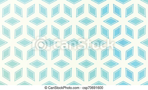 Pattern With Polygonal Geometric Elements. Vector Illustration. Template For Wallpaper, Interior Design, Decoration, Scrapbooking Page. Gradient Background - csp70691600