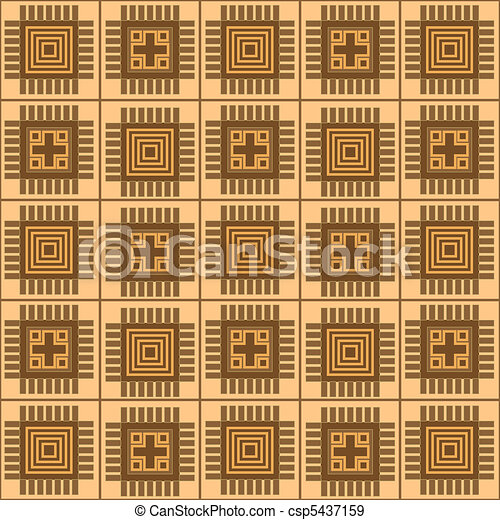 pattern with rectangle shapes - csp5437159